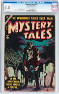 Golden Age (1938-1955):Horror, Mystery Tales #19 (Atlas, 1954) CGC VG/FN 5.0 Cream to off-whitepages....