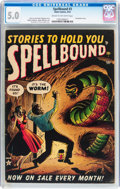 Golden Age (1938-1955):Horror, Spellbound #3 (Atlas, 1952) CGC VG/FN 5.0 Cream to off-whitepages....