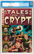 Golden Age (1938-1955):Horror, Tales From the Crypt #39 Gaines File pedigree 2/11 (EC, 1953) CGCNM- 9.2 Off-white to white pages....