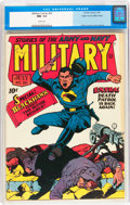 Golden Age (1938-1955):War, Military Comics #20 Mile High pedigree (Quality, 1943) CGC NM- 9.2White pages....