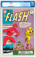 Silver Age (1956-1969):Superhero, The Flash #139 (DC, 1963) CGC NM 9.4 Off-white pages....