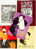 Books:Art & Architecture, [Aubrey Beardsley]. Group of Five Books Featuring Illustrations by Beardsley. Various publishers and dates.... (Total: 5 Items)