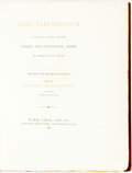 Books:Literature Pre-1900, Frederick Locker-Lampson, editor. SIGNED/LIMITED. Lyra Elegantiarum. A Collection of Some of the Best Social and O...