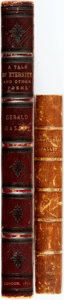 Books:Literature Pre-1900, Gerald Massey. A Tale of Eternity and Other Poems. London: Strahan & Co., 1870. Large octavo. Contemporary full ... (Total: 2 Items)
