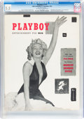Magazines:Miscellaneous, Playboy #1 (HMH Publishing, 1953) CGC FN- 5.5 Off-white to whitepages....