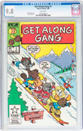 Modern Age (1980-Present):Humor, Get Along Gang #1 (Marvel, 1985) CGC NM/MT 9.8 White pages....