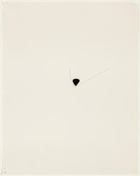 RICHARD TUTTLE (American, b. 1941) Center Point Works II (13), 1975 Pencil and ink on paper 13-3/