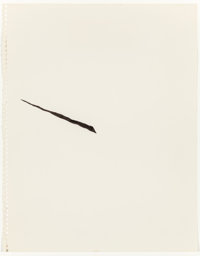 RICHARD TUTTLE (American, b. 1941) Center Point Works 1 (1), 1975 Ink and pencil on paper 14 x 11