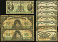 Canadian Currency: , An Assortment of Circulated Canadian Notes.. ... (Total: 10 notes)