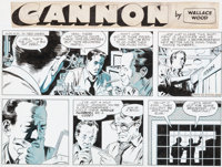 Wally Wood Cannon Comic Strip #C101 Original Art (Wood and Richter, 1973)