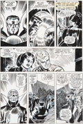 Original Comic Art:Panel Pages, John Romita Sr. Amazing Spider-Man #109 Page 20 Original Art(Marvel, 1972)....