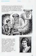 Original Comic Art:Panel Pages, Robert Crumb Kafka For Beginners (R. Crumb's Kafka) Page 63Original Art (Totem Books, 1993)....