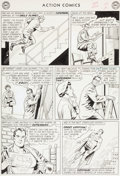 Original Comic Art:Panel Pages, Curt Swan and George Klein Action Comics #304 Page 2Original Art (DC, 1963)....