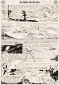 Original Comic Art:Panel Pages, Mike Sekowsky and Murphy Anderson Brave and the Bold #30Page 14 Justice League of America Original Art (DC, 1960)...