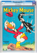 Golden Age (1938-1955):Cartoon Character, Mickey Mouse Magazine V3#12 File Copy (K. K. Publications/WesternPublishing Co., 1938) CGC NM- 9.2 Cream to off-white pages....