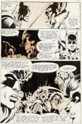 "Original Comic Art:Panel Pages, Neal Adams and Dick Giordano Power Records PR-30 Batman""Robin Meets Man-Bat"" Page 14 Original Art (Power Records,...(Total: 2 Items)"