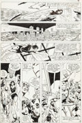 Original Comic Art:Panel Pages, George Perez and Mike Esposito Avengers #202 Page 3 OriginalArt (Marvel, 1980)....