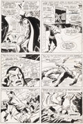 Original Comic Art:Panel Pages, John Buscema and Frank Giacoia Sub-Mariner #1 Page 12Original Art (Marvel, 1968)....