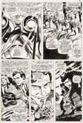 "Original Comic Art:Panel Pages, Gene Colan and Frank Giacoia Tales of Suspense #87""Crisis-At The Earth's Core!"" Page 7 Original Art (Marvel, 1967..."