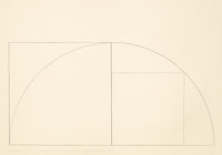 ROBERT MANGOLD (American, b. 1937) A Line Arc and a Line Right Angle..., 1976 Pencil on wove paper