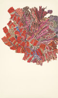Photographs, GINNY BISHTON (American, b. 1967). Walking, Red, 2004. Photo collage on wove paper. 38 x 22-1/4 inches (96.5 x 56.5 cm)...