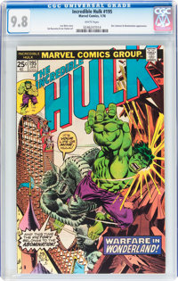 The Incredible Hulk #195 (Marvel, 1976) CGC NM/MT 9.8 White pages