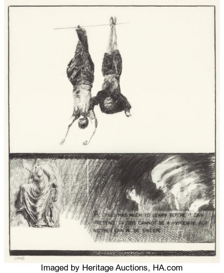 ROBERT MORRIS (American, 1931)Investigations, August 1990Pencil on Mylar18 x 15 inches (45.7 x 38.1 cm)Signed an...