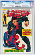Silver Age (1956-1969):Superhero, The Amazing Spider-Man #73 (Marvel, 1969) CGC NM+ 9.6 Off-white to white pages....