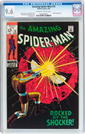 Silver Age (1956-1969):Superhero, The Amazing Spider-Man #72 (Marvel, 1969) CGC NM+ 9.6 Off-white to white pages....