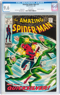 The Amazing Spider-Man #71 (Marvel, 1969) CGC NM+ 9.6 White pages