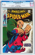 Silver Age (1956-1969):Superhero, The Amazing Spider-Man #69 (Marvel, 1969) CGC NM+ 9.6 Off-white to white pages....