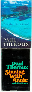 Books:Travels & Voyages, Paul Theroux. Pair of First Editions, One of Which is Signed. Sinning with Annie. Boston: Houghton Mifflin, 1972. Fi... (Total: 2 Items)