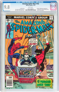 The Amazing Spider-Man #162 (Marvel, 1976) CGC NM/MT 9.8 White pages