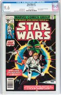 Bronze Age (1970-1979):Superhero, Star Wars #1 (Marvel, 1977) CGC NM+ 9.6 White pages....