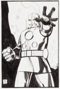Original Comic Art:Splash Pages, Tim Sale Hulk: Gray #3 Splash Page 22 Original Art (Marvel,2004)....