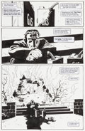 Original Comic Art:Panel Pages, Tim Sale Batman: Dark Victory #13 Page 43 Original Art (DC,2000)....