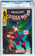 Silver Age (1956-1969):Superhero, The Amazing Spider-Man #49 (Marvel, 1967) CGC NM 9.4 White pages....
