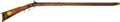 Long Guns:Muzzle loading, American .38 Caliber Percussion Full Stock Rifle, Leman LancasterLock...