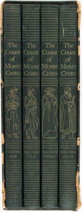 Books:Literature Pre-1900, Lynd Ward, illustrations. SIGNED/LIMITED. Alexandre Dumas. TheCount of Monte Cristo. New York: The Limited Editions...(Total: 4 Items)
