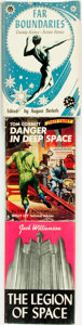 Books:Science Fiction & Fantasy, [Science-Fiction]. Trio of First editions. Jack Williamson. The Legion of Space. Reading: Fantasy Press, 1947. State... (Total: 3 Items)