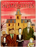Books:Art & Architecture, Charles Addams. Homebodies. New York: Simon and Schuster, 1954. First edition, first printing. ...