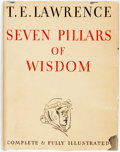 Books:Biography & Memoir, T. E. Lawrence. Seven Pillars of Wisdom. Garden City: Doubleday, Doran & Company, 1935. First trade edition. ...