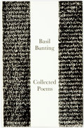 Books:Literature 1900-up, Basil Bunting. SIGNED/LIMITED. Collected Poems. [London:]Fulcrum Press, [1968]. Octavo. Edition limited to 150 numb...