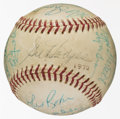 Baseball Collectibles:Balls, 1968 New York Mets Team Signed Baseball....