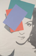 Prints, ANDY WARHOL (American, 1928-1987). Paloma Picasso, 1975. Silkscreen in colors on Arches paper. 40-7/8 x 27-1/4 inches (1...