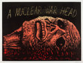 Post-War & Contemporary:Contemporary, ROBERT ARNESON (American, 1930-1992). A Nuclear Warhead,1983. Woodcut in colors. 42-1/2 x 56-1/2 inches (108.0 x 143.5 ...