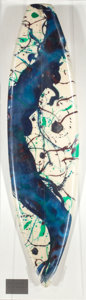 Sculpture, SAM FRANCIS (American, 1923-1994). Untitled (SF87-270), 1987. Paint on styrene foam surfboard blank and fiberglass with ...