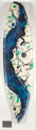 SAM FRANCIS (American, 1923-1994) Untitled (SF87-270), 1987 Paint on styrene foam surfboard blank and fiberglass with...