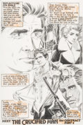 Original Comic Art:Splash Pages, Mike Grell Jon Sable Freelance #22 Page 22 Original Art(First, 1985)....