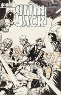 Original Comic Art:Covers, Tim Truman Grimjack #7 Cover Original Art (First, 1984)....